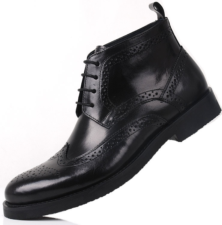 slangwell luxurious lace up mens dress boots high