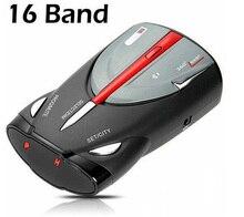 Hot! XRS 9880 Car Radar Detector Cobra Full 16-Band Russian & English Language Lacer Anti Radar Detector for Driving