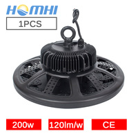 200w UFO high bay LED light warehouse 220V 110V industrial machines for garage light chandelier public lighting powerful lights