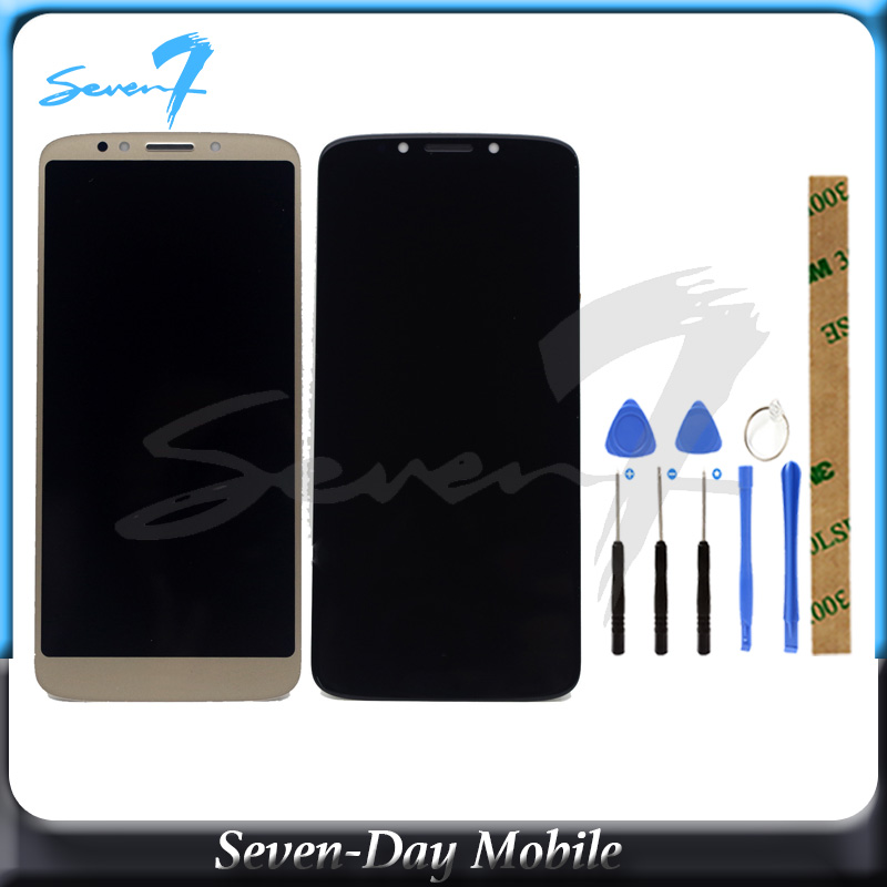 100% Tested LCD Screen For Motorola Moto E5 G6 play XT1922 XT1922-3  LCD Display With Touch Screen Assembly