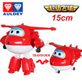 Big!! 15cm Super Wings Action Figure Toys Deformation Airplane Robot Transformation For Children Christmas Gift