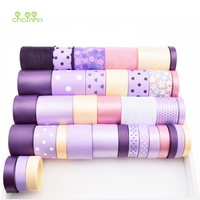 High Quality 36Design Mix Purple Ribbon Set For Diy Handmade Gift Craft Packing Hair Accessories Wedding