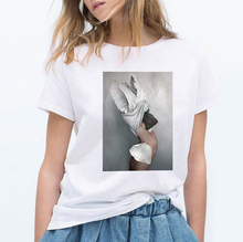 ZOGANKI Women Summer T Shirt Graphic Tee Fashion Short Sleeve Tops Cute Female T-shirts Casual Ladies T-shirt
