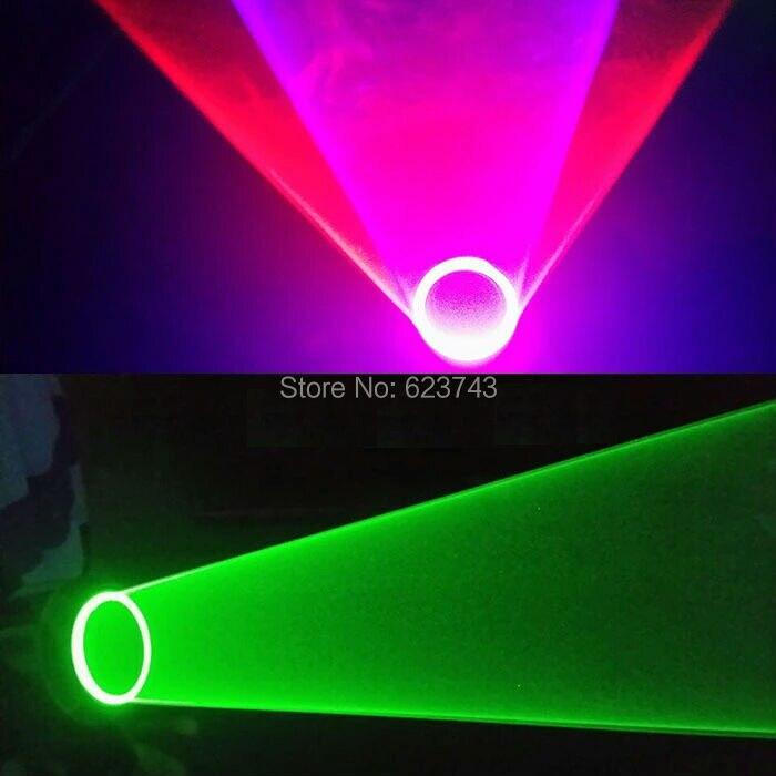 1 punids guantes de vórtice láser multicolor efecto de túnel DJ luz de mano láser de vórtice giratorio para DJ Dance Party Club