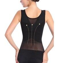 Women Slim Yoga Clothes Waist Trainer Cincher Underbust Corset Body Shaper Shapewear Undershir