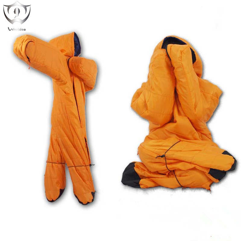 2018 Wnnideo Outdoor Camping Sleeping Bag Children Winter Season 1 Pcs New Hot Hiking Family Party