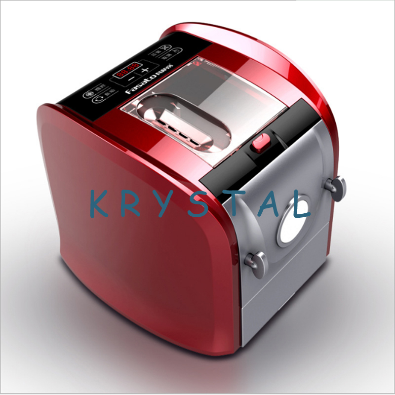 Automatic Pasta Maker 500g Capacity Pasta Dough Machine includes Measuring Cup, Die Head, Dumpling Wrappers, Drip Cup FST08 цена