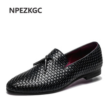 NPEZKGC Men oxford shoes Breathable Action Leather Men's Flats men Shoes Summer Spring Casual Shoes For Man Plus Size 38-48