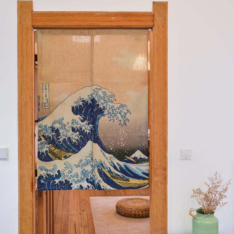 Japanese Style Curtain Curtains Fabric Curtain In Curtains