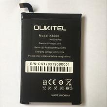 Oukitel K6000 Battery 6000mAh New Replacement accessory accumulators For Oukitel K6000 PRO Cell Phone сотовый телефон oukitel k6000 plus gold