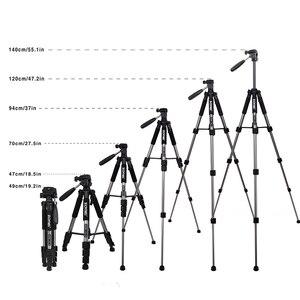 Image 3 - ZOMEI Q111 ترايبود خفيفة الوزن المحمولة السفر سبائك الألومنيوم كاميرا ترايبود للهاتف لكانون نيكون سوني DSLR الهاتف الذكي