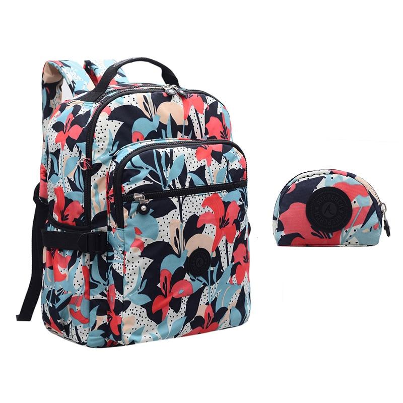 ACEPERCH POP College Backpack for Teenage Girls Backpack Nylon Solid Laptop Backpack Women Bagpack School Student Book Bag women casual backpack for teenage girls children school bags bagpack lady laptop backpack student book bag schoolbags pink blue