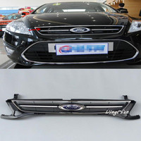 High Quality ABS Front Racing Grills Upper Grill Fit For Ford Mondeo 2011 2012 Accessories 1pcs