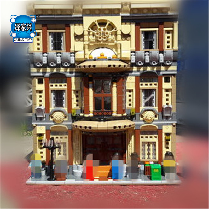 5052Pcs The Maritime Museum Set Block Genuine Creative MOC City Series Building Blocks Bricks Toys Model Gifts maritime safety