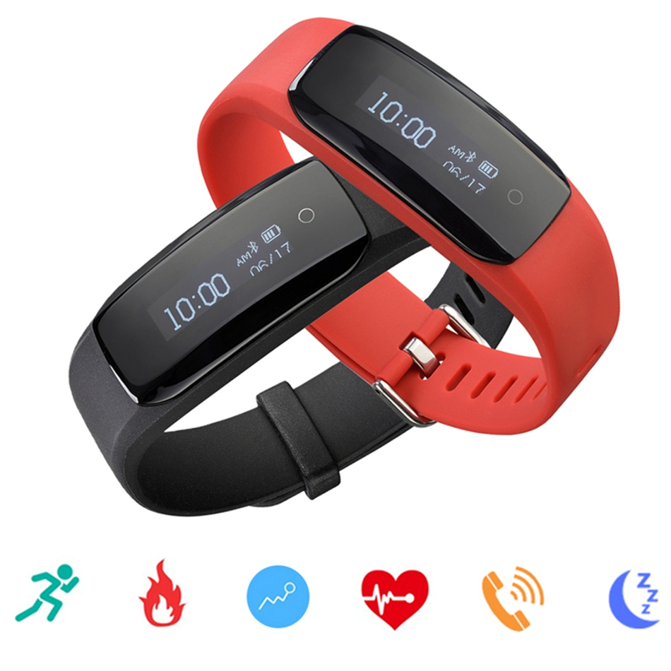 Lenovo HW01 PLUS Smart Band Bracelet Men Women Heart Rate Sleep Monitor Fitness Smart Wristband Watch for iOS Android new fashion smart watch dial call 16g card heart rate monitor wristband for ios android bluetooth smart band women men bracelet