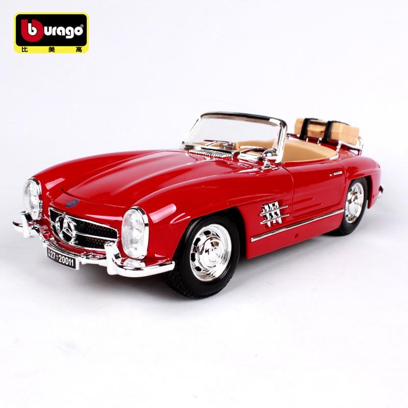 1:18 Die cast หัตถกรรม mkd3 รถเด็กของเล่น 1957 สำหรับ Benz 300 SL Fiat Buggati alloy รถ JAGUAR-ใน โมเดลรถและรถของเล่น จาก ของเล่นและงานอดิเรก บน   1
