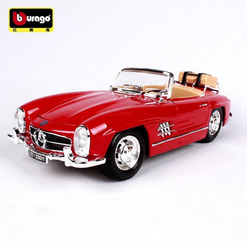1:18 de fundición de arte mkd3 niños vehículo juguetes 1957 para Benz SL 300 Fiat Buggati Vintage de aleación modelo de coche JAGUAR-in Troquelado y vehículos de juguete from Juguetes y pasatiempos    1