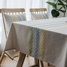 Simanfei Plaid Decorative Linen Tablecloth Waterproof Oilproof Thick Rectangular Wedding Dining Table Cover Tea Table Cloth solid green white grey table linen cover table cloth rectangular dining wedding party round tablecloth