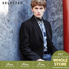 SELECTED contains long wool woollen coat and coat i