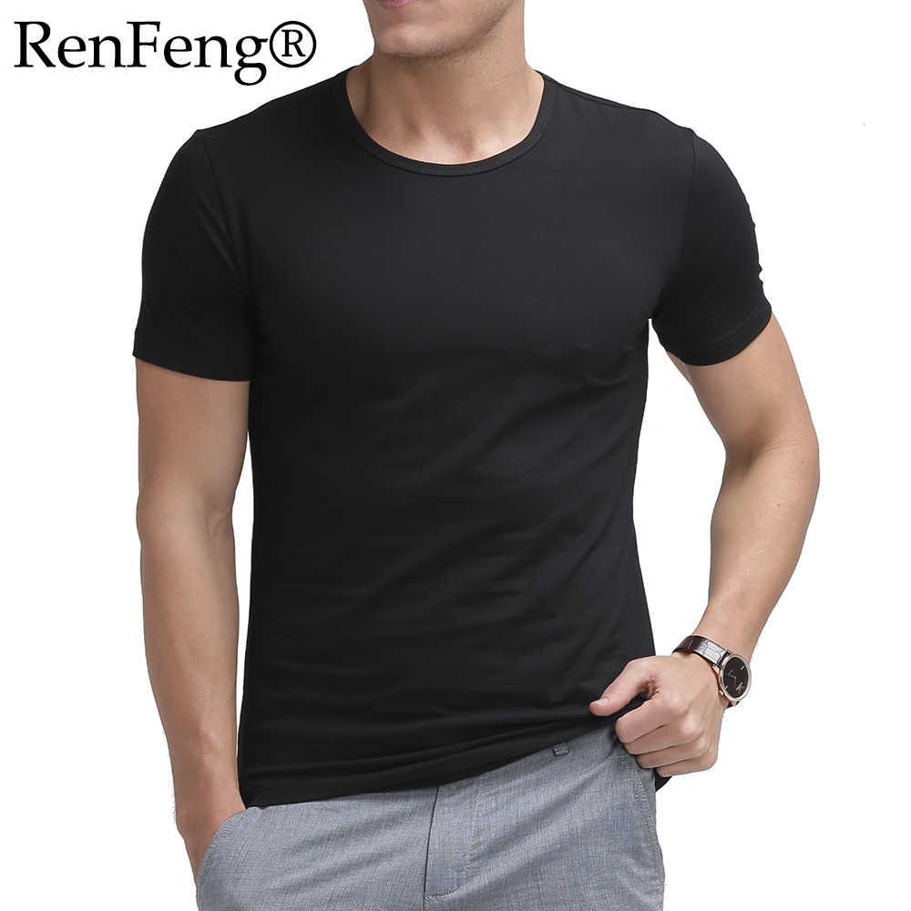 f5730b752ef6 t shirt men streetwear camisetas masculina blank black oversized tshirt  mens t shirts fashion 2019 man