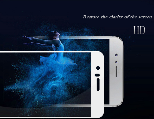 2pcs/lot Tempered Glass For Huawei Honor 8 Screen Protector 9H Anti Blu-ray Glass Protective film For Huawei honor 8 glass