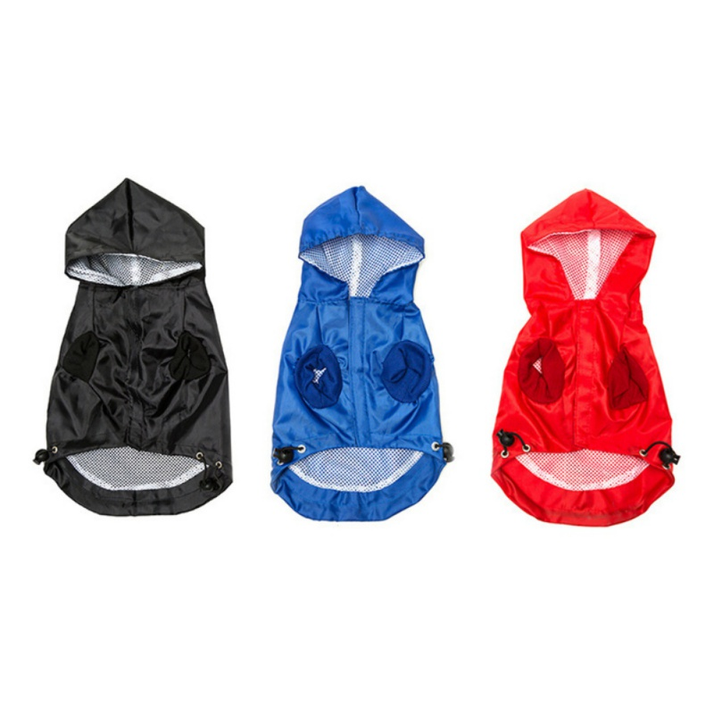 Small Pet Dog Hoodie Jacket Rain Coat Waterproof Clothes Slicker Jumpsuit Apparel Dog Clothes For Small Dogs Raincoats