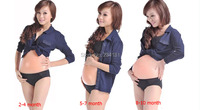 Wholesale Hot Sell Retail 8 10 Month Artificial Silicone Big Belly Fake Belly For False Pregnancy Performing props