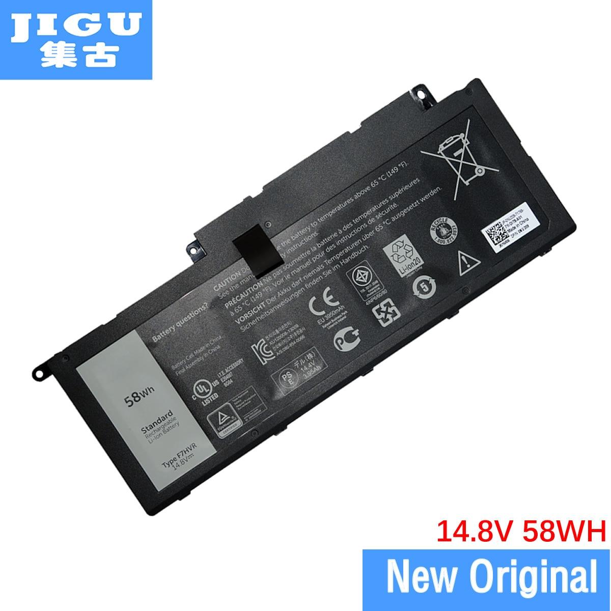 JIGU F7HVR Batterie D'ordinateur Portable D'origine Pour Dell INS15BD Ins17HD Pour Inspiron 14 15 15r 5545 17 7000 7437 7537 7548 7737 7746