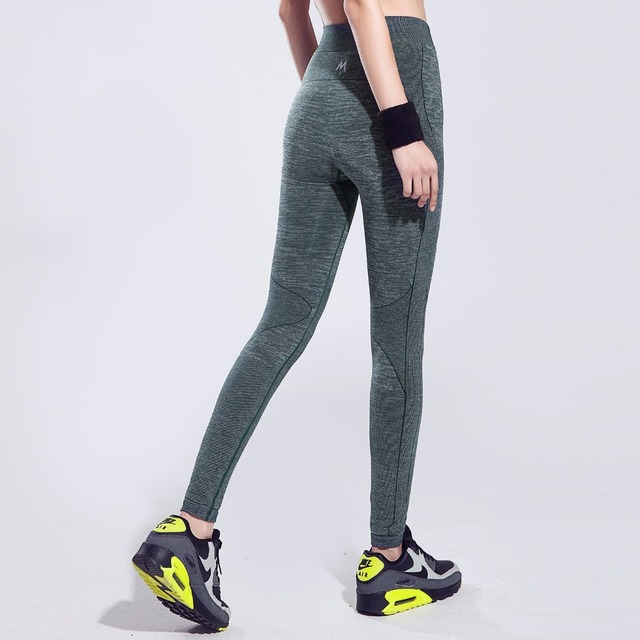 Women's High Elastic Tight Sports pants Professional Quick Dry Breathable Fitness Running Yoga Slim pant