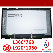 14LCD Display Touch Screen Glass Digitizer Assembly  For HP PAVILION X360 14 CD 14 CD0046TX 14 DD not with touch board