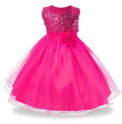 HTB12YJ4RVXXXXcLXVXXq6xXFXXX6 - 3-14yrs Hot Selling Baby Girls Flower sequins Dress High quality Party Princess Dress Children kids clothes 9colors