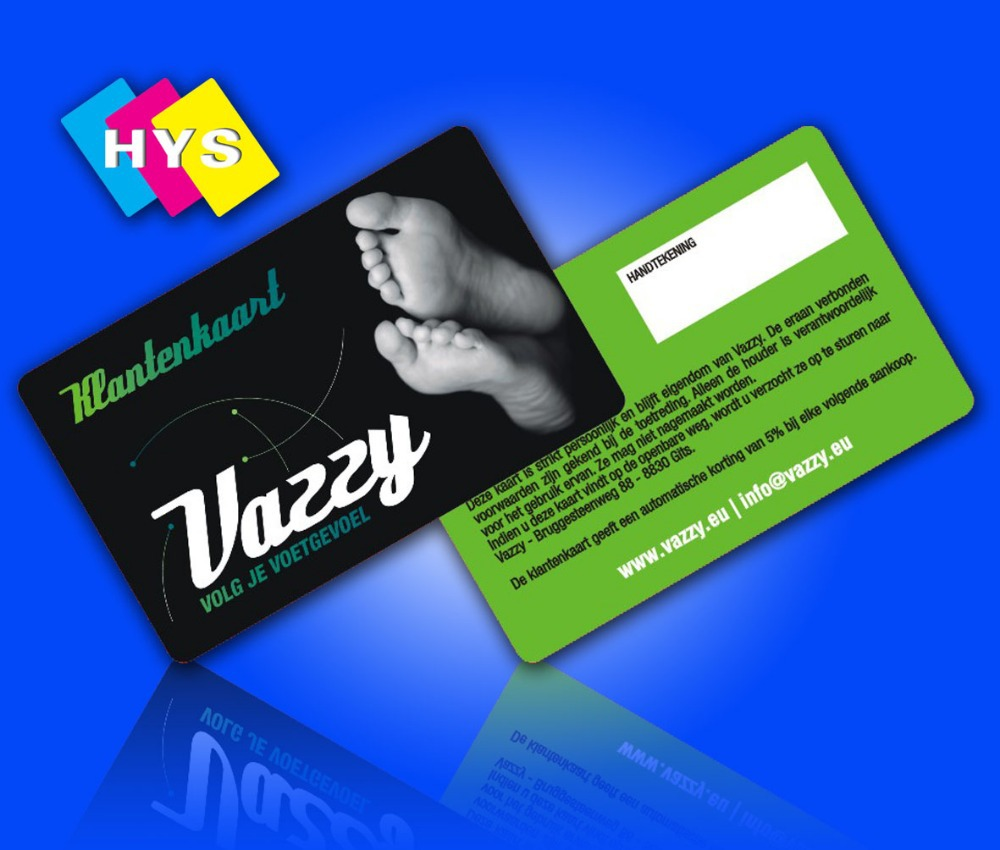 Plastic Loyalty Card And Business Card Printing