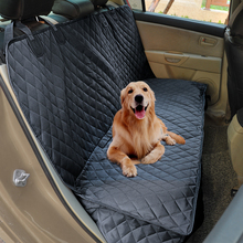 купить Bench Car Seat Cover Protector 100% Waterproof Nonslip Pet Carrier Dog Car Seat Cover For Dogs Car Travel Mat по цене 1612.94 рублей