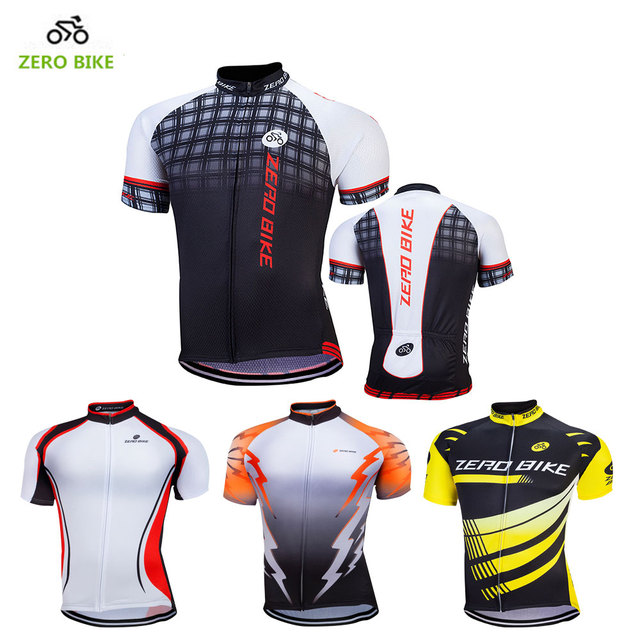 ZERO BIKE Hot Sales 100% Polyester Breathable Men s Cycling Jersey 2017  Summer Mountain bike cycling clothing ropa ciclismo 024cca588