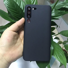 Ultra Thin Soft TPU Silicone Back Matte Black Case For Lenovo Z6 Pro Shockproof Cover Cases