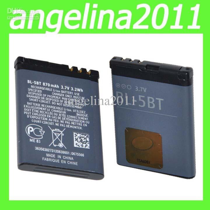 Amazon.com: Nokia 7370/ N76 700 mAh Li-Ion Battery: Cell Phones ...