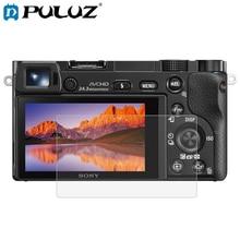цена на PULUZ Screen Protector For Sony A6000 A6300 RX100 HX7  HX9  HX100 HX50  HX60 ILCE-9 (A9) WX350  WX300 2.5D 9H Tempered Glass