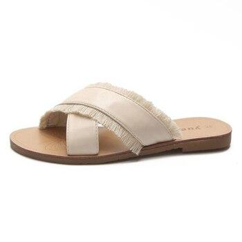 825613f1 Zapatillas de mujer dormitorio interior zapatillas de casa zapatos de  verano Zapatos de badslippers Flip Flops diapositivas zapatos de mujer  pantufa ...
