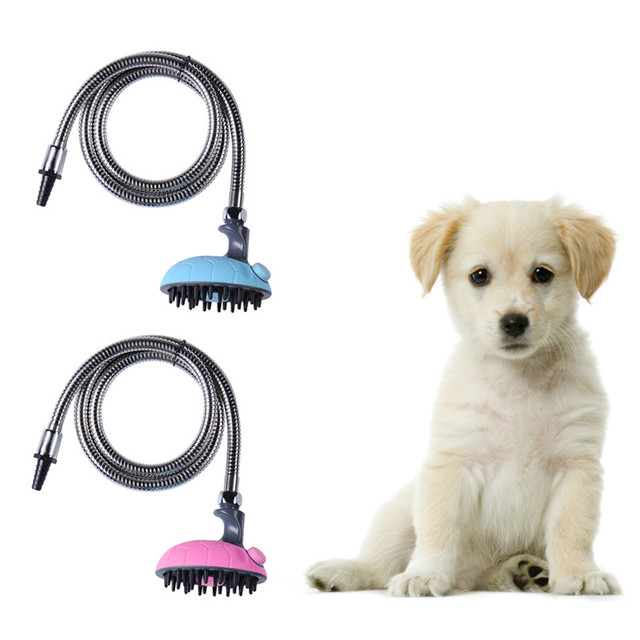 Multifunctional Pet Dog Cat Bathing Device Shower Nozzle Pet Cleaning Supplies Massage Shower Hose Pets supplier Wholesale