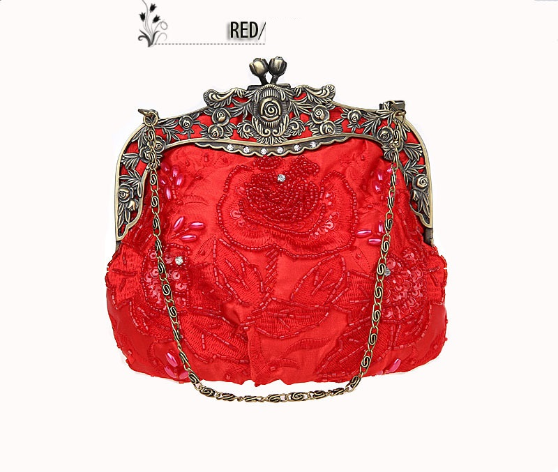 ФОТО Perfect# Single supply selling beaded dinner hand bag 2583 Bride Dress FREE SHIPPING