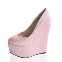 15 cm High Heel Wedges Platform Shoes Women sexy shoes sys-