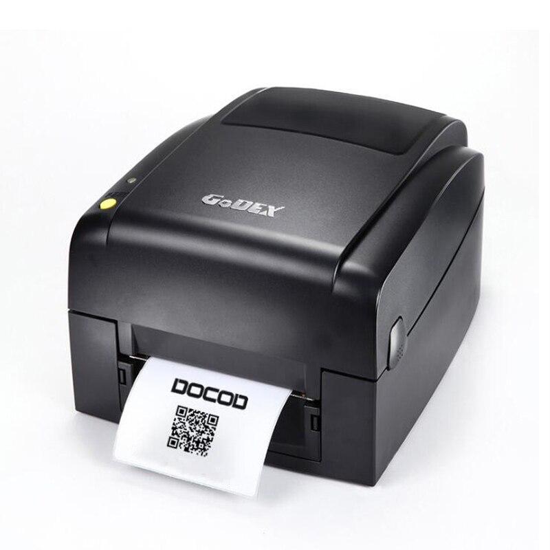 Quality Godex transfer printer EZ620 203dpi thermal barcode label USB printer multifuncional stickers paper tag printer 1 roll label paper new release2120tf bluetooth version barcode printer stickers stickers labels thermal clothing label