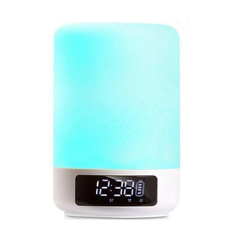 Bluetooth Speaker Lamp Color Changing Lamp Bedside Lamp Touch Control Lamp RGB & LED Kids Night Light Mode, Music Mood Light led touch color change night light motion sensor bedside lamp bluetooth speaker touch control support mobile phone app control