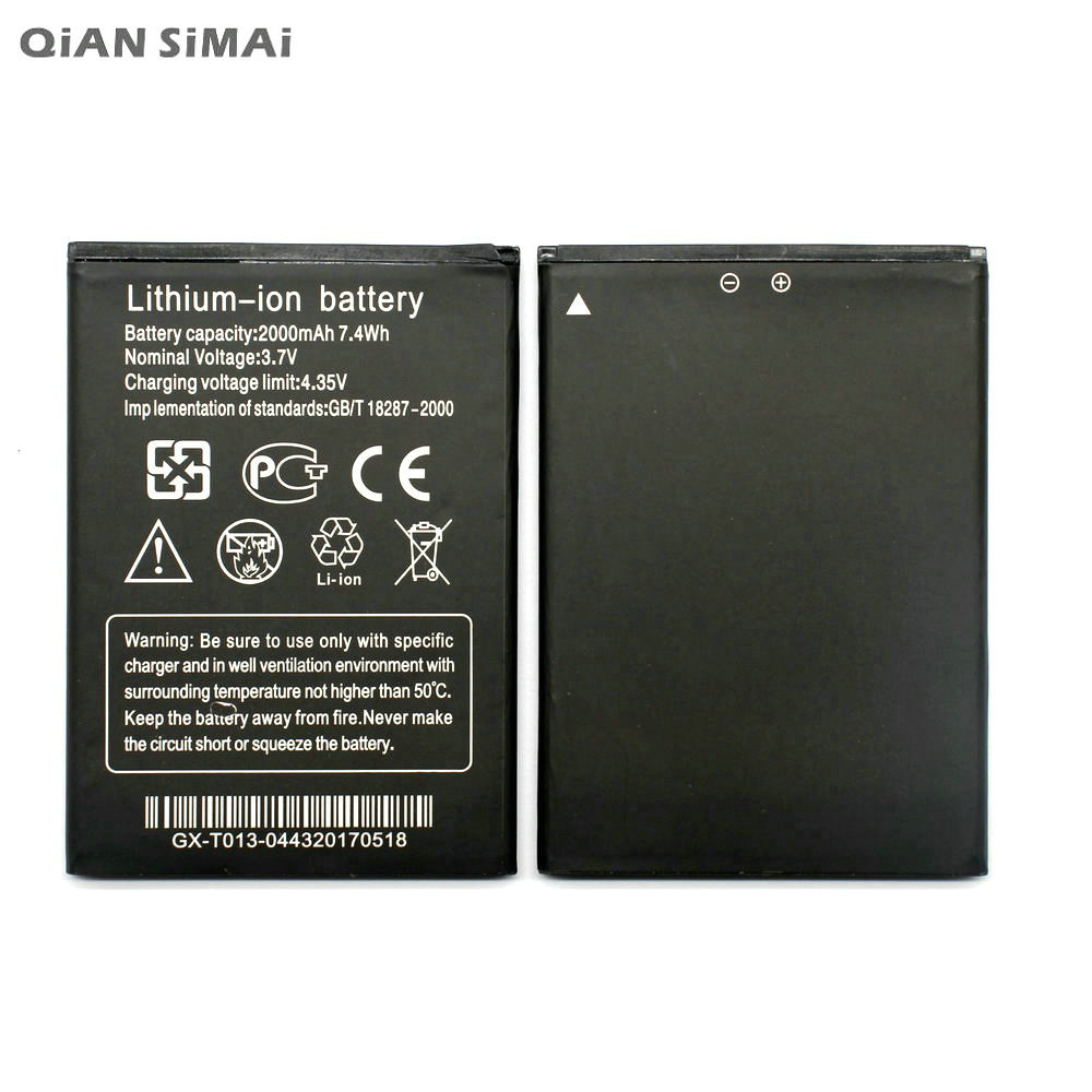 Qian Simai 2000mah Lithium Ion Battery For Thl W200 W200s W200c Prince Pc 10 Hp Walkie Talkie Powerbank Ultimate Outdoor Gadget Mobile Phone Batterie Batterij Tracking Code