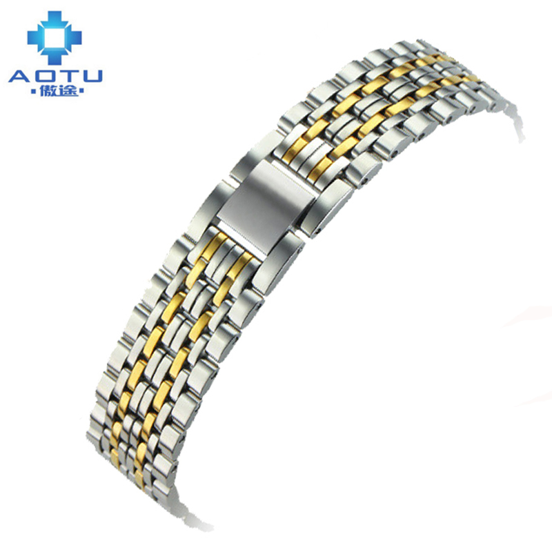 Stainless Steel Watch Strap For Tissot Men's 18mm Watch Band 1853 T52 Top Brand Metal Watchband For Women Watch Strap 12mm top quality new stainless steel strap 18mm 13mm flat straight end metal bracelet watch band silver gold watchband for brand