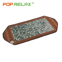 POP RELAX 110V natural jade massage mat far infrared thermal physical therapy healthcare pain relief jade stone heating mattress