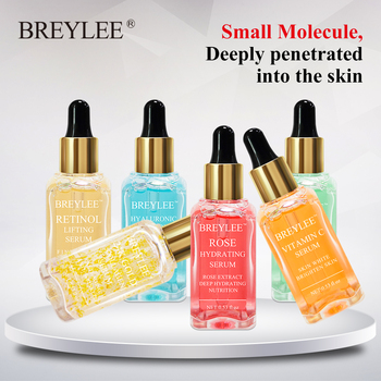 BREYLEE Serum Face Facial Series Hyaluronic Acid Collagen Vitamin C Whitening Lifting Firming Anti aging Wrinkle