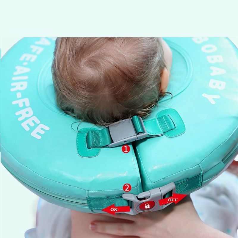 ソリッド安全必要はありませインフレータブルフローティングネックリング水泳フロートのためのアクセサリーベビースイミングプール