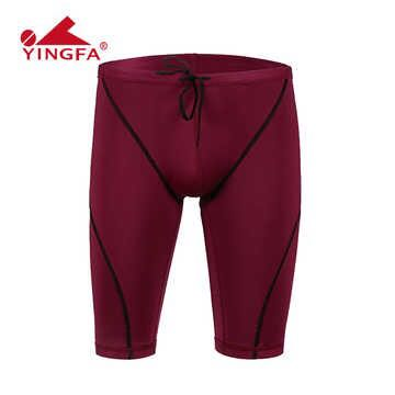 Yingfa Swimwear Men  Fina Swimsuit Competitive Swimming Jammers For Boys Bathing Suit Mens Swim Shorts Swimming Trunks Swim Suit