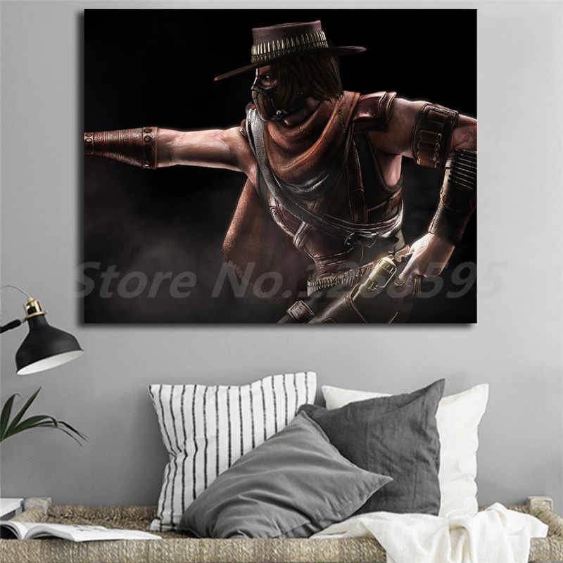Mortal Kombat Erron Black Wall Art Canvas Poster And Print Canvas Painting  Decorative Picture For Modern Living Room Home Decor